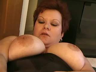 Honey fatty fucks and gets mouthful in hotel