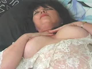 Fat slut with big bobs blowing hard dick