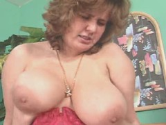 Mature breasty fat mom fucked hard in studio